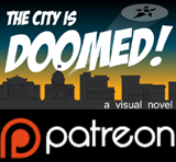 The city is Doomed, a visual novel